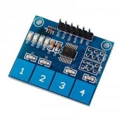 Ttp224 Modulo Capacitivo 4ch Touch Switch Arduino Itytarg