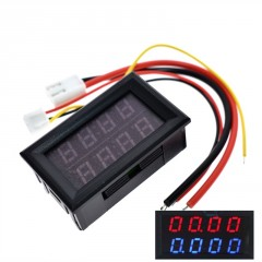Voltimetro 4 Digitos Amperimetro Digital Led 200v 10a Arduino Itytarg