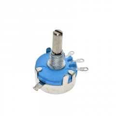 10k Potenciometro Wh5-1a Wh5 100mw 4mm Eje 10mm Itytarg