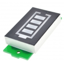 Display Led Indicador Porcentual Nivel Bateria Lipo 2s 8.4v Color Azul Itytarg