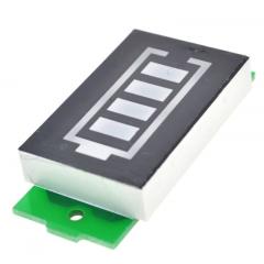 Display Led Indicador Porcentual Nivel Bateria Lipo 3s 12.6v 100% Color Azul Itytarg