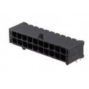 Conector Microfit Header 3mm 20 Pines 2x10 T/h Pcb 90 Grados Tipo Cp3520 Itytarg