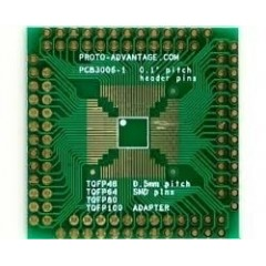 Adaptador Xqfp 0.5mm Pitch 48 64 80 Pcb3006-1 Itytarg