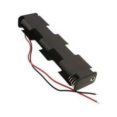 Bateria Holder 4 X Aa Porta Pila Bh14aaw Itytarg