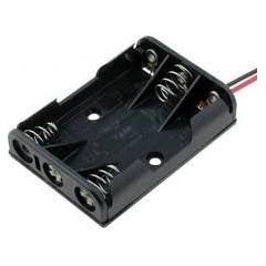 Holder Porta Pila 3 X Aa Tbh-2a-3a-w Arduino Itytarg