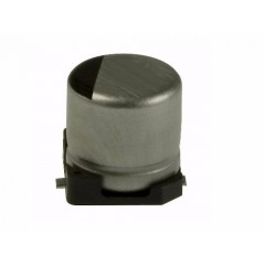 10 Capacitor Smd Electrolitico Aluminio 47uf X 16v Itytarg