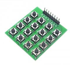 Teclado 4x4 Matriz Tact Switch Arduino Itytarg