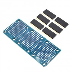 Triple Base Shield D1 Mini Esp8266 Wifi Protoboard  Itytarg