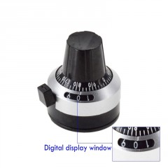 Perilla + Dial Para Potenciometro Eje 6mm (sin Pote) Itytarg