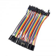 40 Cables Macho Hembra 20cm Premium Dupont Arduino Itytarg