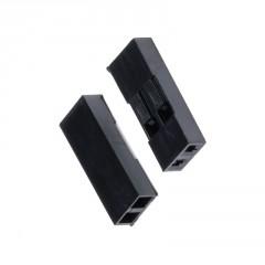 Lote 10 X Conectores 2pin Dupont 2.54mm + Interior Itytarg