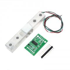 Celda Carga Sensor Peso 1kg + Interfaz Hx711 Itytarg