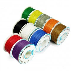 Rollo 300m Cable Verde Wire Wrapping  30 Awg Itytarg