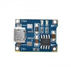 Tp4056 Cargador Bateria Lipo 5v Micro Usb S/protecc  Itytarg