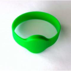 Pulsera Silicona Rfid 13.56mhz S50 Arduino Sumergible Verde Itytarg