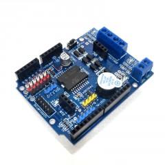 Shield L298p Control Velocidad Puente H Pwm Arduino Uno Itytarg