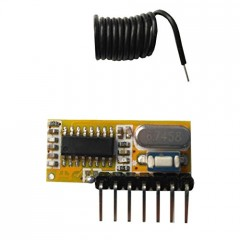 Receptor Control Remoto 433mhz Rx6 Pt2262 Programable Itytarg