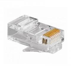 Lote 25 X Rj45 8 Pines Conector Ethernet