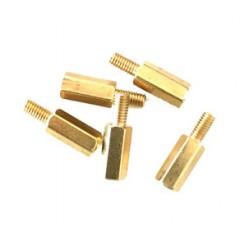 Lote 10 X Separador Hexagonal M2.5 10/6mm Pcb