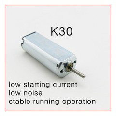 Motor K30  Solar 1.5v-6v 20*8*6mm  Eje 1mm Itytarg