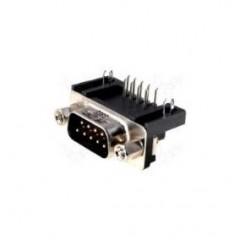 Conector Db9 Macho 90 Grados Para Impreso Itytarg