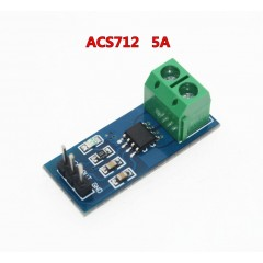 Sensor De Corriente ± 5a Efecto Hall Acs712 Arduino Itytarg