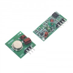 Módulos Rf Transmisor Y Receptor 433mhz Arduino Itytarg