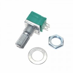 Potenciometro 10k Rk097g Lineal Audio Sellado 6pin 15mm Itytarg