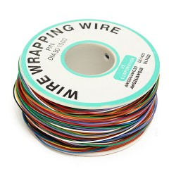 Rollo 200m Cable 8 Colores Wire Wrapping Chipear Reparar Itytarg