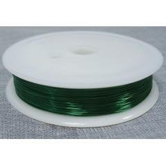 40m Cable Wire Wrapping Unifilar Esmaltado Verde 0.5mm Itytag