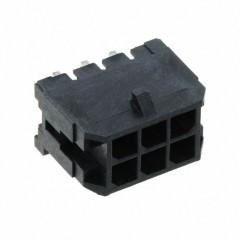 Conector Header 3mm 6 Pines Angulo Recto 0430450600 Itytarg