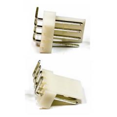 Lote 25 X Conector Kf2510 Macho 3 Pines 90 Grados 2.54mm Itytarg