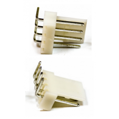 Lote 25 X Conector Kf2510 Macho 5 Pines 90 Grados 2.54mm Itytarg