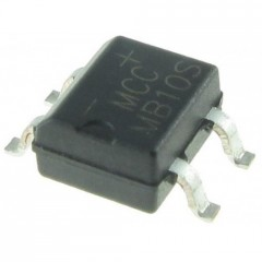 Lote 5  X Puente Rectificador Smd Mb10s Sop-4 1000v 500ma Itytarg