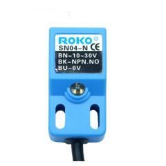 Sensor De Proximidad Inductivo Sn04-p Npn 10-30v Dc Led Itytarg