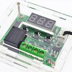 W1209 Control Temperatura Termostato 12v Con Gabinete Itytarg