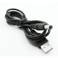 Cable Usb 5v A Plug Dc 5.5 X2.1mm 1.2m Para Alimentacion Itytarg