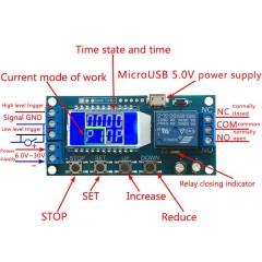 Timer Temporizador Multifuncion Con Display 6v-30v Itytarg