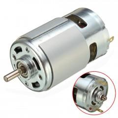 Motor 775  Eje Liso 12v - 24v Alto Torque Robotica Itytarg
