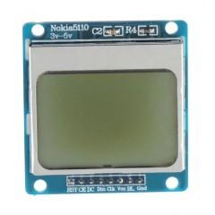 Module Azul Backlight 84*48 84x84 Lcd Nokia 5110 Itytarg