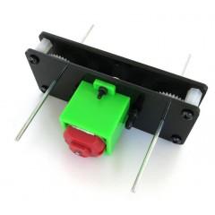 Kit Motor 130 Caja Reduccion Engranajes A 4 Ejes Robotica Itytarg