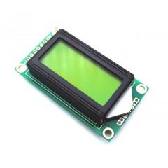 Display Lcd 2x8 8x2 Verde Lcd0802 Itytarg