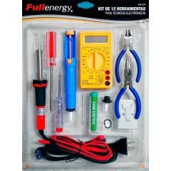 Kit 12 Herramientas Electronica Ideal Arduino Multimetro Itytarg
