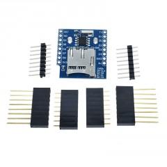 Shield Wemos D1 Reloj Rtc Ds1307 Micro Sd Wifi Arduino Itytarg