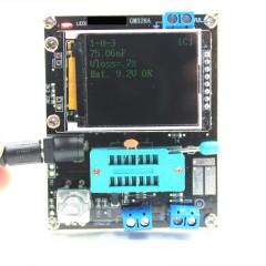 Gm328a Tester Transistor Diodo  Esr Capacitancia  + Generador Señal De Onda Cuadrada + Gabinete  Itytarg