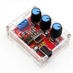 Kit Diy Xr2206 Generador De Funciones Triamgular/cuadrada/senoidal  1hz-1 Mhz Ajuste Frecuencia Amplitud Itytarg