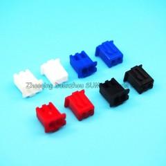 Lote 30 X  Conector Rojo Housing Xh2.54 Hembra 2pin  Pitch 2.54mm Js-2001-02  Itytarg