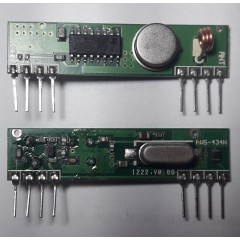 Receptor Control Remoto 433mhz 433.92mhz  Filtro Saw Itytarg