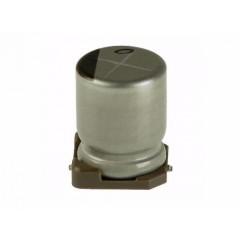 10 X Capacitor Electrolítico 100uf X 50v Smd Itytarg