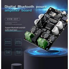 Vhm-307 Amplificador Audio  Tda7492p Bluetooth 4.0 2x50w  Itytarg